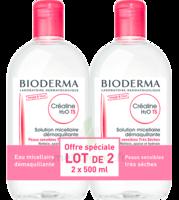 Crealine Ts H2o Solution Micellaire Sans Parfum Nettoyante Apaisante 2fl/500ml à VALENCE