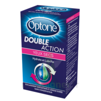 Optone Double Action Solution Oculaire Yeux Secs Fl/10ml à VALENCE