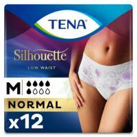 Tena Lady Silhouette Slip Absorbant Blanc Normal Médium Paquet/12 à VALENCE