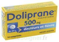 DOLIPRANE 500 mg Comprimés 2plq/8 (16) à VALENCE