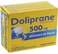 DOLIPRANE 500 mg Poudre pour solution buvable en sachet-dose B/12 à VALENCE