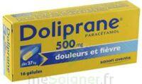 DOLIPRANE 500 mg Gélules B/16 à VALENCE