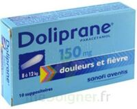 DOLIPRANE 150 mg Suppositoires 2Plq/5 (10) à VALENCE