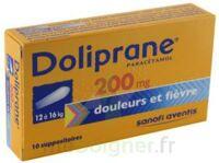 Doliprane 200 Mg Suppositoires 2plq/5 (10) à VALENCE