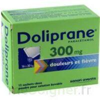 Doliprane 300 Mg Poudre Pour Solution Buvable En Sachet-dose B/12 à VALENCE