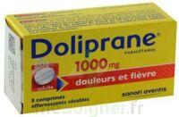 DOLIPRANE 1000 mg Comprimés effervescents sécables T/8 à VALENCE