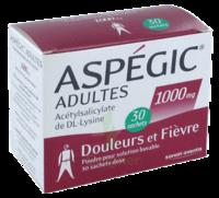 ASPEGIC ADULTES 1000 mg, poudre pour solution buvable en sachet-dose 30 à VALENCE