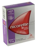 Nicoretteskin 10 mg/16 h Dispositif transdermique B/28 à VALENCE