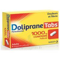 Dolipranetabs 1000 Mg Comprimés Pelliculés Plq/8 à VALENCE