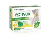 Activox Sans Sucre Pastilles Menthe Eucalyptus B/24 à VALENCE
