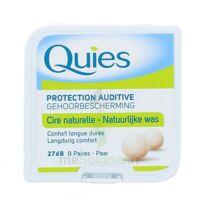 QUIES PROTECTION AUDITIVE CIRE NATURELLE 8 PAIRES à VALENCE