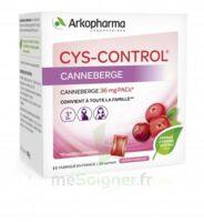 Cys-control 36mg Poudre Orale 20 Sachets/4g à VALENCE