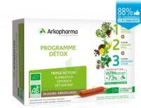 Arkofluide Bio Ultraextract Coffret programme détox 3x10 Ampoules/10ml à VALENCE