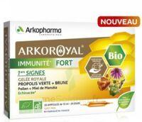 Arkoroyal Immunité Fort Solution Buvable 20 Ampoules/10ml à VALENCE