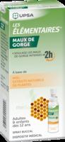LES ELEMENTAIRES Solution buccale maux de gorge adulte 30ml à VALENCE