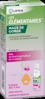 LES ELEMENTAIRES Spray buccal maux de gorge enfant Fl/20ml à VALENCE
