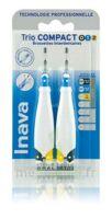 Inava Brossettes Tri Compact étroit  012 Noir 0,6mm/ Bleu 0,8mm/ Jaune 1mm à VALENCE