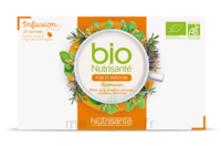 Nutrisanté Infusions Bio Tisane Foie Et Intestin 20 Sachets à VALENCE