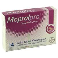 Mopralpro 20 Mg Cpr Gastro-rés Film/14 à VALENCE