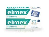 ELMEX SENSITIVE DENTIFRICE, tube 75 ml, pack 2 à VALENCE