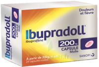 IBUPRADOLL 200 mg, capsule molle à VALENCE