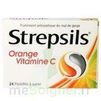 STREPSILS ORANGE VITAMINE C, pastille à VALENCE