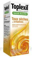 TOPLEXIL 0,33 mg/ml sans sucre solution buvable 150ml à VALENCE