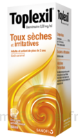TOPLEXIL 0,33 mg/ml, sirop 150ml à VALENCE