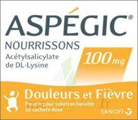 ASPEGIC NOURRISSONS 100 mg, poudre pour solution buvable en sachet-dose à VALENCE