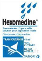 Hexomedine Transcutanee 1,5 Pour Mille, Solution Pour Application Locale à VALENCE