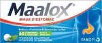 MAALOX HYDROXYDE D'ALUMINIUM/HYDROXYDE DE MAGNESIUM 400 mg/400 mg Cpr à croquer maux d'estomac Plq/60 à VALENCE