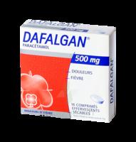 DAFALGAN 500 mg Comprimés effervescents sécables Film/16 à VALENCE
