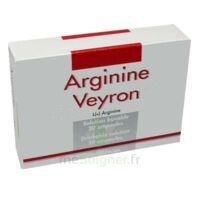 ARGININE VEYRON, solution buvable en ampoule à VALENCE