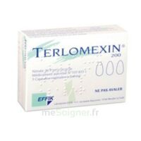 TERLOMEXIN 200 mg, capsule molle vaginale à VALENCE