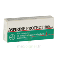 ASPIRINE PROTECT 300 mg, comprimé gastro-résistant à VALENCE