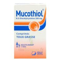 MUCOTHIOL 200 mg Cpr pell Fl/20 à VALENCE