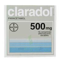 Claradol 500 Mg, Comprimé Effervescent Sécable à VALENCE