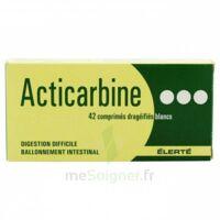 Acticarbine Comprimé Enrobé B/42 à VALENCE