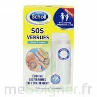 Scholl SOS Verrues traitement pieds et mains à VALENCE