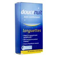 Doucenuit Antironflement Languettes, Sachet 28 à VALENCE