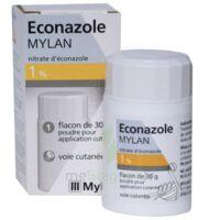 ECONAZOLE MYLAN 1 % Pdr appl cut Fl/30g à VALENCE