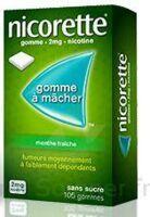 NICORETTE 2 mg Gom à mâcher médic sans sucre menthe fraîche Plq/30gom à VALENCE