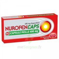 Nurofencaps 400 Mg Caps Molle Plq/10 à VALENCE