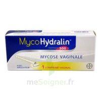 MYCOHYDRALIN 500 mg, comprimé vaginal à VALENCE