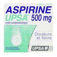 ASPIRINE UPSA 500 mg, comprimé effervescent à VALENCE