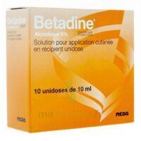 Betadine Alcoolique 5 % S Appl Cut En Récipient Unidose B/10 à VALENCE