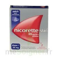 Nicoretteskin 25 mg/16 h Dispositif transdermique B/7 à VALENCE