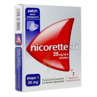 Nicoretteskin 25 mg/16 h Dispositif transdermique B/28 à VALENCE