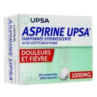ASPIRINE UPSA TAMPONNEE EFFERVESCENTE 1000 mg, comprimé effervescent à VALENCE