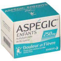 ASPEGIC ENFANTS 250, poudre pour solution buvable en sachet-dose à VALENCE